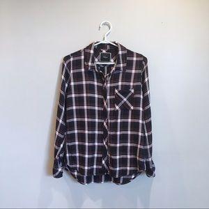 Rails Paid Button Down Shirt